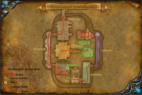 Utgarde Pinnacle Map